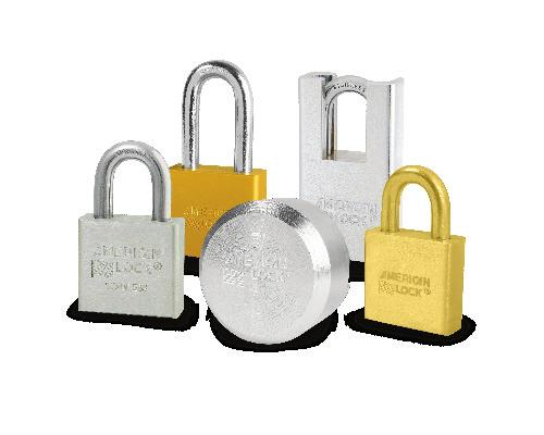 1 American 5 pin Padlock Cylinder  Restricted keyway  APTC 12 R1