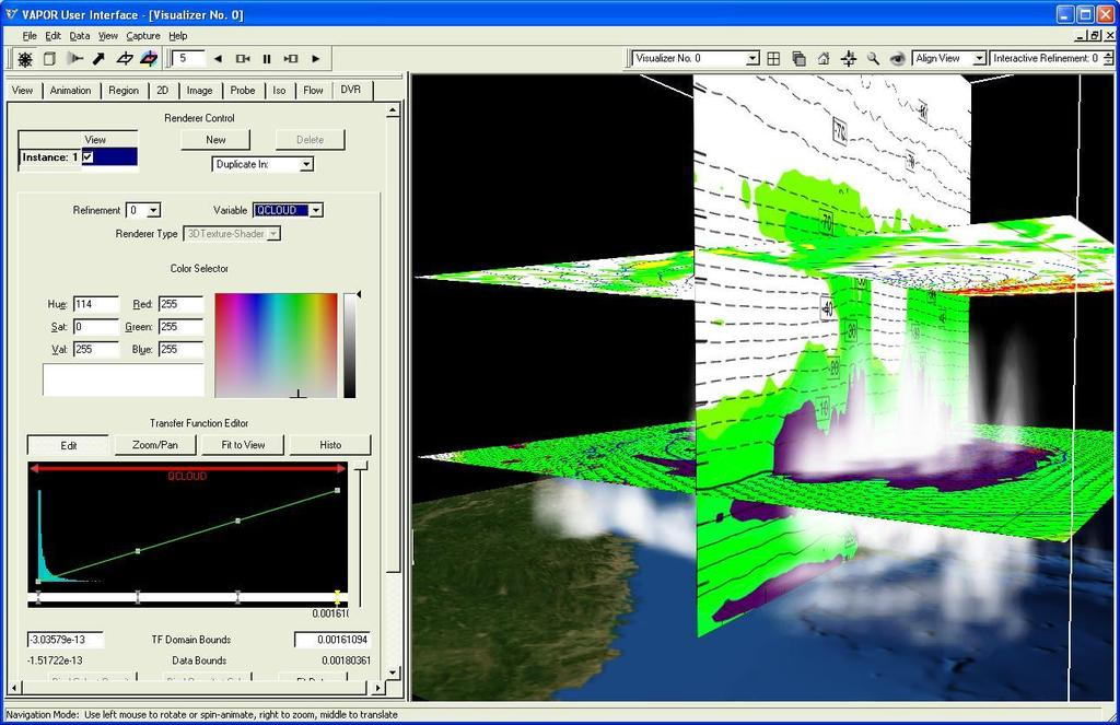 Using NCL with VAPOR to Visualize WRF-ARW data - PDF