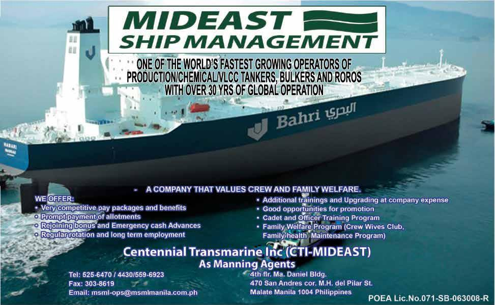 MARINA s death wish for the seafaring industry Page 3 > - PDF