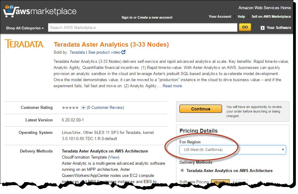 Teradata Aster Analytics on AWS Getting Started Guide - PDF