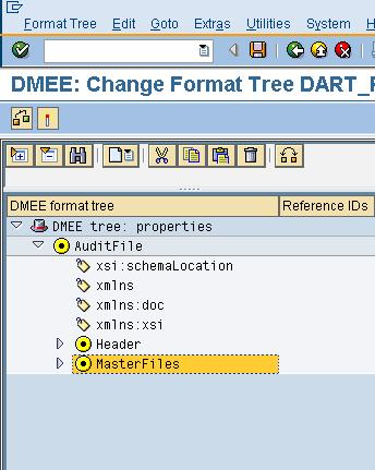 14 New transaction code for SAFTPT_FIMD Change the