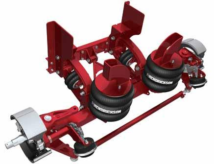 TRUCK MODEL APPLICATIONS  Steer and Non-Steer Lift Axle Suspension