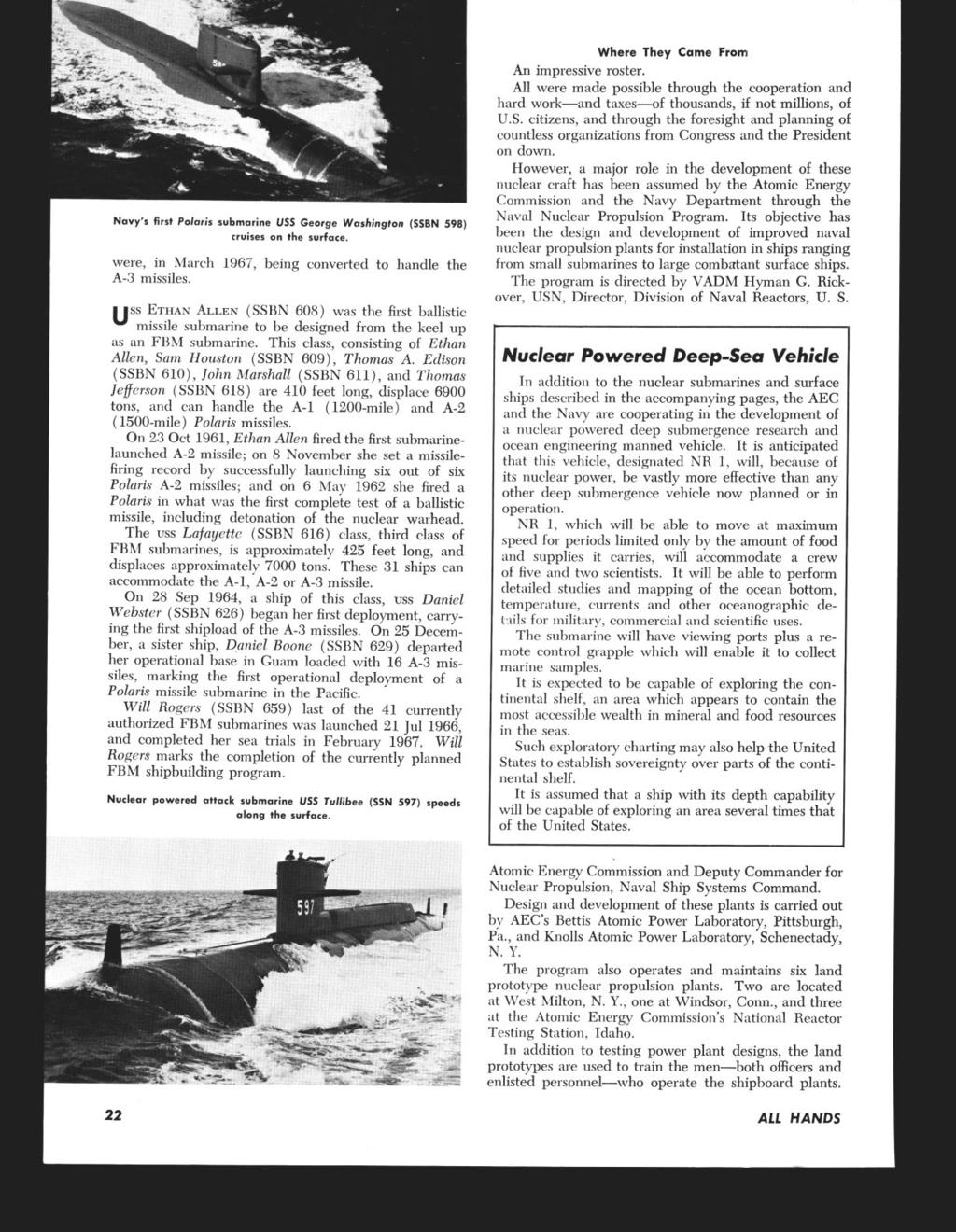 All WINDS* THE BUREAU OF NAVAL PERSONNEL CAREER PUBLICATION