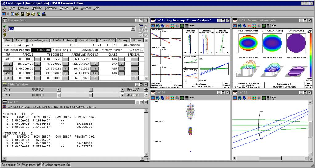Optics Reference  Version 6 1  Optics Software for Layout and
