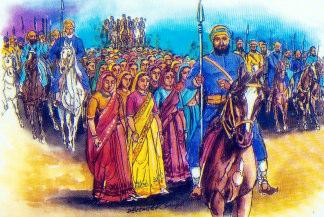 The Mighty Sikhs  The Sikhs who reversed the tides of