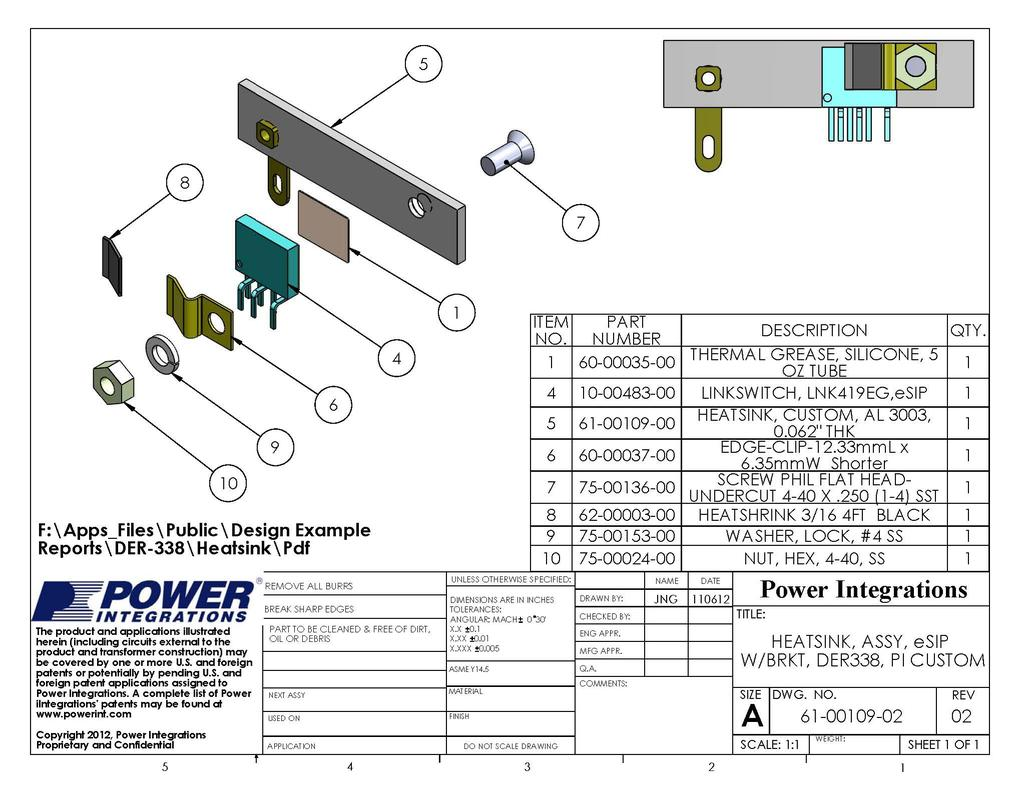 Design Example Report Pdf China Nonisolated Buck Circuit T8 Led Driver Manufacturer Supplier 29 Jan 13 Der 338 23 W Low Profile Using Lyt4215e