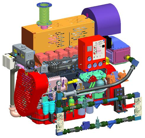 Kirloskar KFP Series Engines For Fire Pumps FM Approved UL