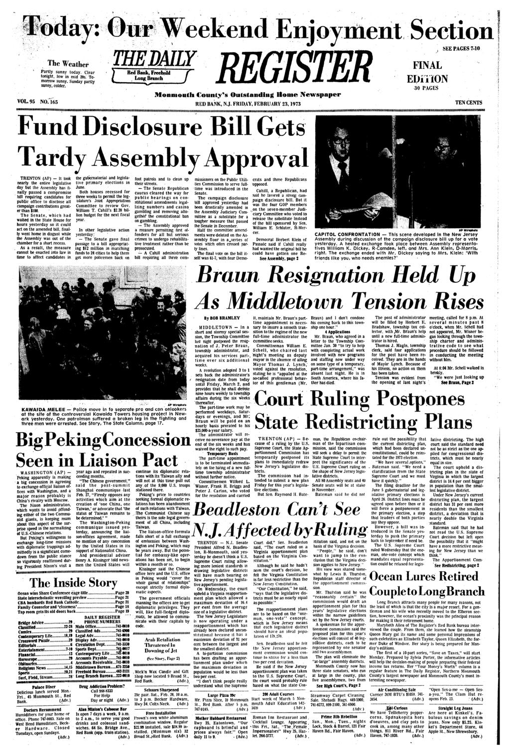 74fd7018f55 Monnioutli County s Outstanding Home Newspaper RED BANK