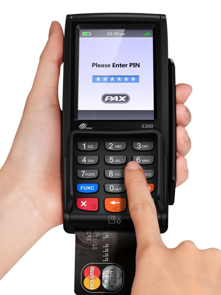 PAX S300 EMV Certified PINpad with Heartland Payment Processing - PDF