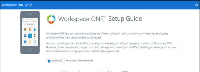 Vmware Workspace One Quick Configuration Guide Pdf