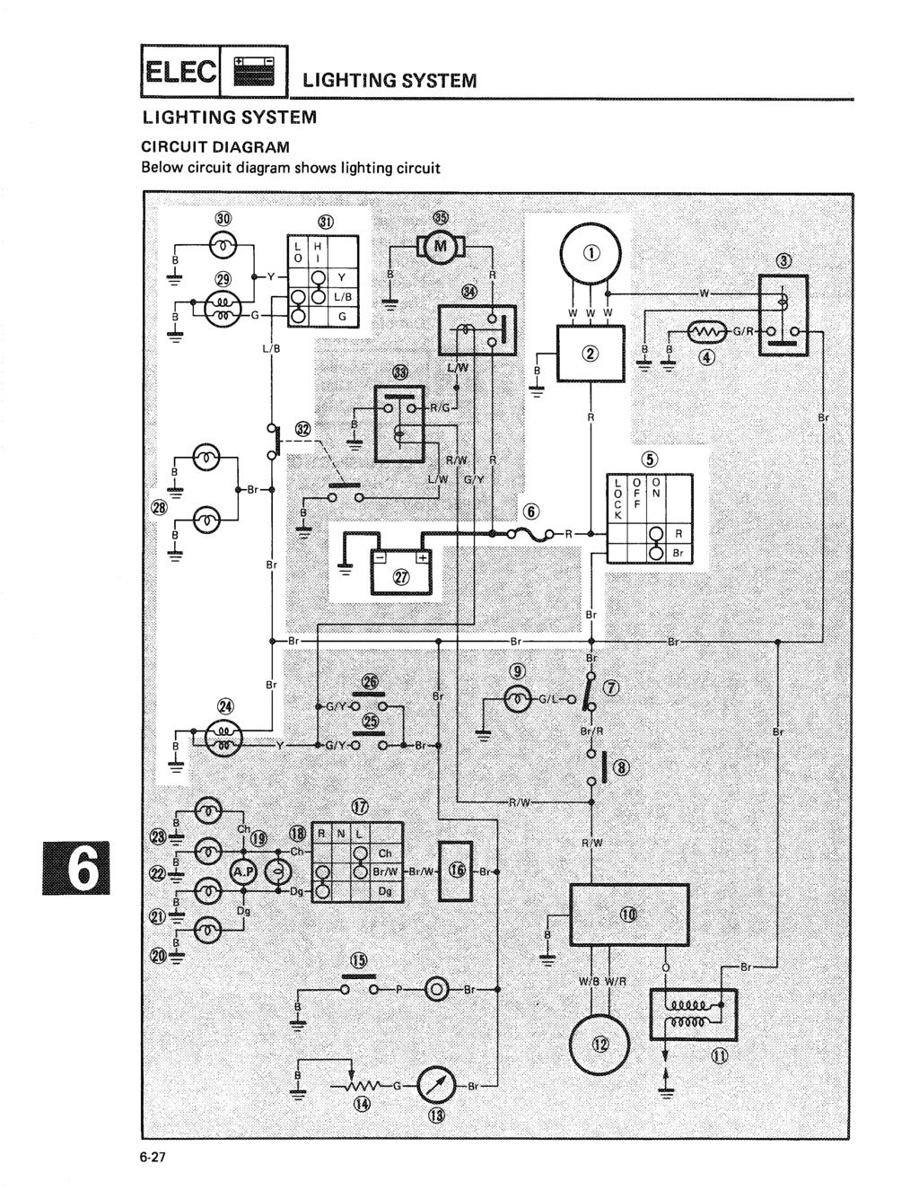 Downloaded From Pdf Bmw L6 M6 Electrical Troubleshooting And 87car Wiring Diagram Ielec Lighting System Circuit Below