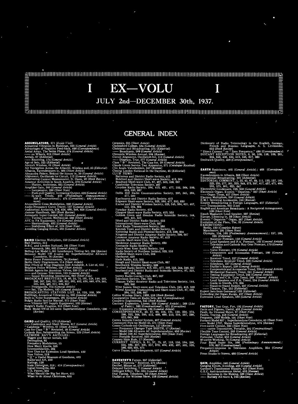 Volume Xli Published From The Offices Of Wireless World Radio Builder Audio Amplifier6 Simple Circuits Short Article Air Navigation Across Atlantic And 45 Editorial