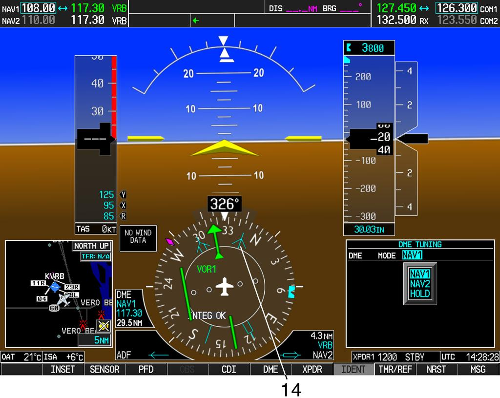 archer iii pilot s sn and up with garmin g1000 system pa report