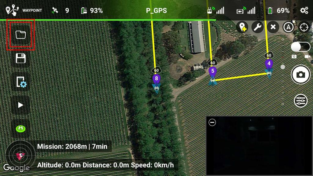 Tutorial on how to use DJIFlightPlanner (for planning) with