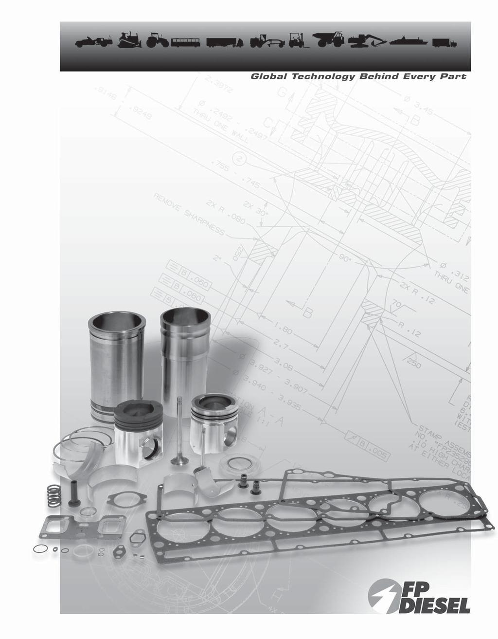 Replacement Parts Catalog Ca0095 October Pdf Diagram Boat Wiring Massey Ferguson Diagrams Overhead Engine Kits The Fp Diesel Kit Program Allows You To Select A