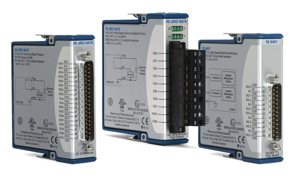 C Series Digital Output and Relay Modules - PDF