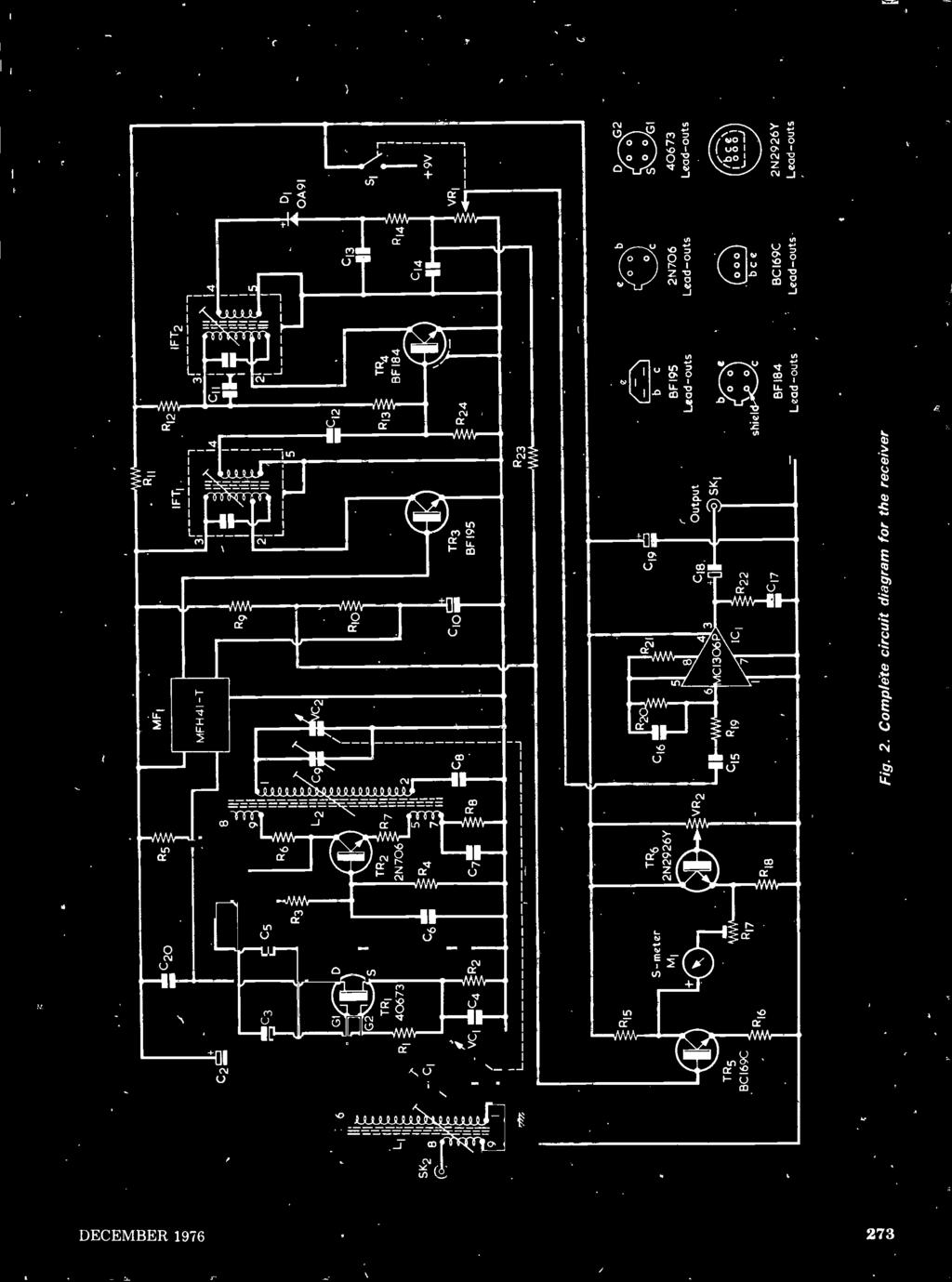 Imoiisiii Uoi3ithisnoo Os11n A311111f 3d Pdf 272 Grooming Mower Belt Diagram Further Mtd Lawn Wiring Complete Circuit For The Receiver Di 0a91 C13 R13 Tr4 8f