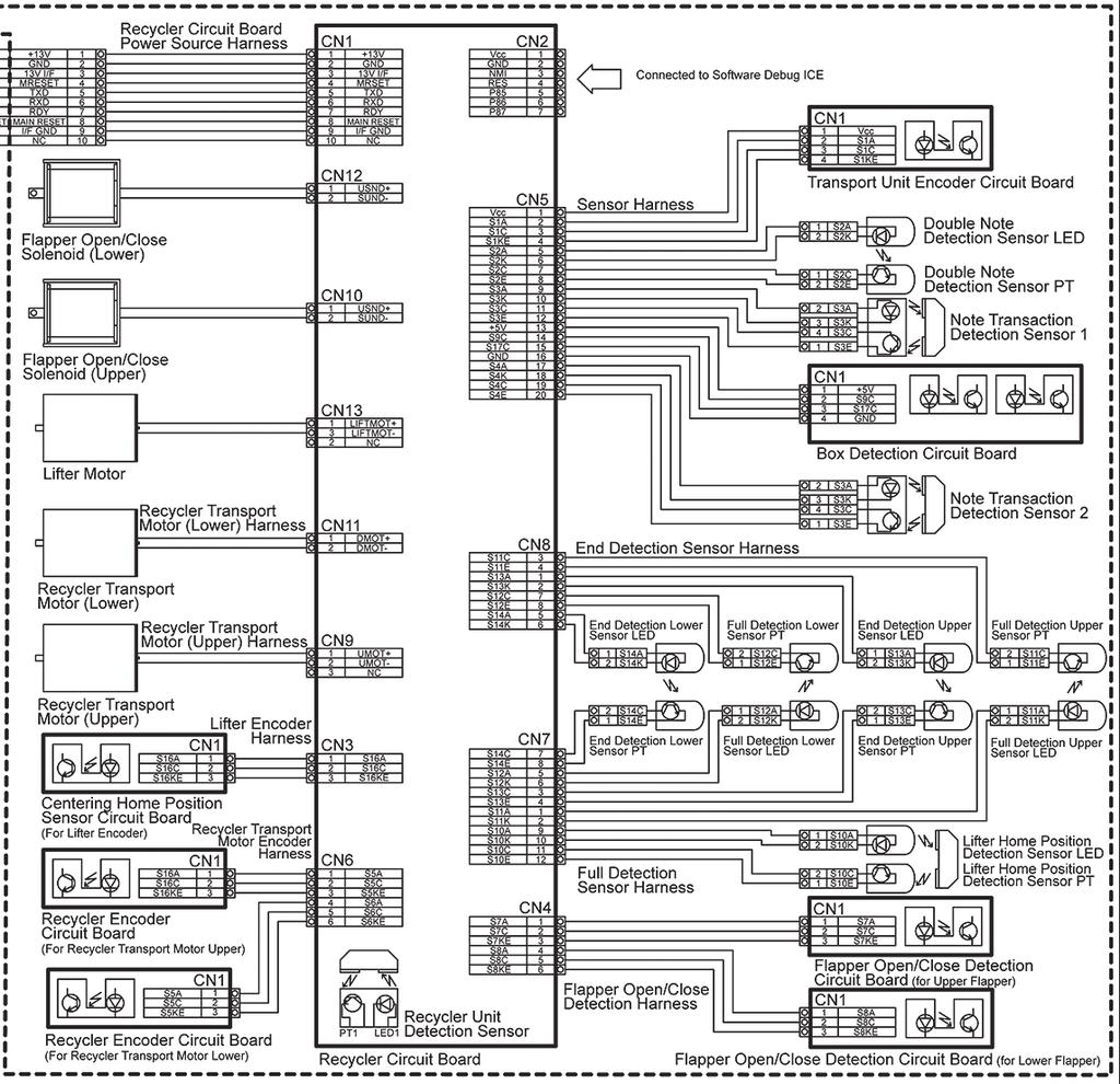 Ipro Rc Series Banknote Recycler Pdf Lowrance Elite 7 Wiring Diagram 127 49 Diagrams Section 5 Frame Unit Partial