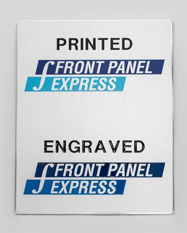 How to design printed panels using the Front Panel Designer