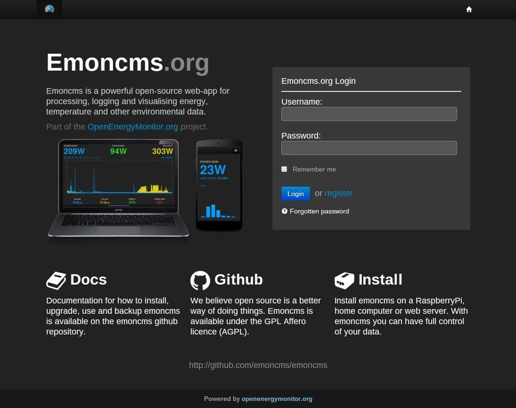 OpenEnergyMonitor  EcoHome Lab: From Monitoring to Control