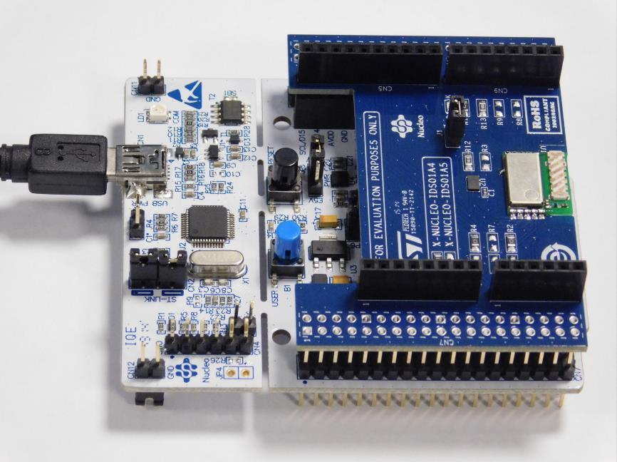 Getting started with the Contiki OS/6LoWPAN on STM32 Nucleo
