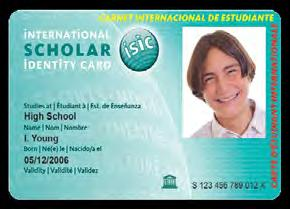 1b5026bd92 2016 ISIC Association Annual Report 5 About the International Student  Identity Card (ISIC) Each