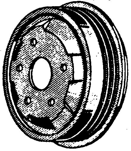 jan ford parts early ford pdf 1955 Ford Commercial 1217 1102 1201 1139 front brake drum 1949 53 all except station wagon oa