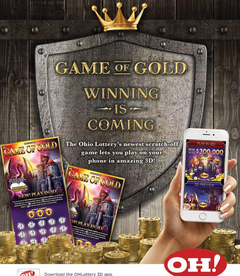 Madison : Ohio lottery game of gold app