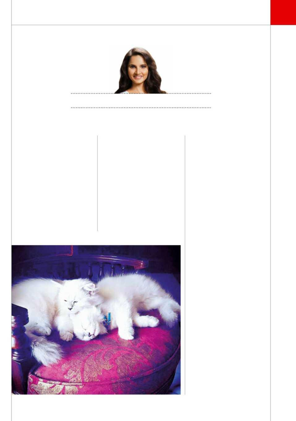 1427f4ea2 THE WEEK MAY 1, 2016 59 I loved having pets as a little girl and