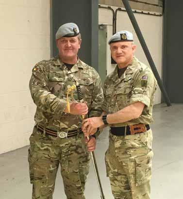 News and updates from 7 Aviation Support Battalion REME  A sad day