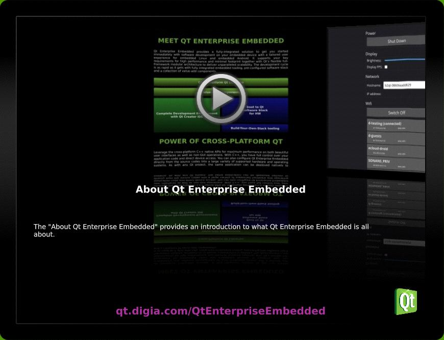 Device Creation with Qt Enterprise Embedded  Andy Nichols - PDF