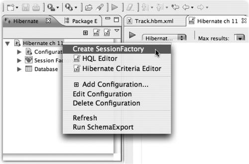 Use Hibernate in conjunction with other packages, such as