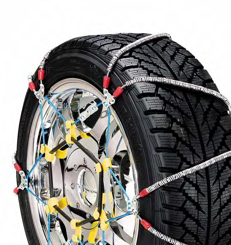 Security Chain Company ZT835 Super Z Heavy Duty Truck Single Tire Traction Chain Set of 2