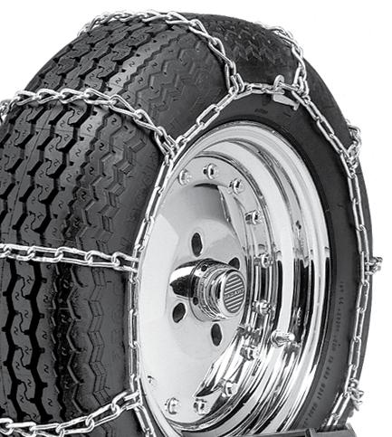 Pack of 1 Security Chain Company QG4845 Quik Grip V-Bar Type RDT Light Truck Dual and Triple Tire Traction Chain