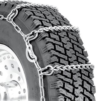 Set of 2 Security Chain Company ZT841 Super Z Heavy Duty Truck Single Tire Traction Chain