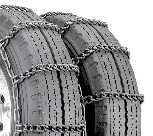 Security Chain Company QG2214 Quik Grip Light Truck Type LSH Tire Traction Chain Set of 2