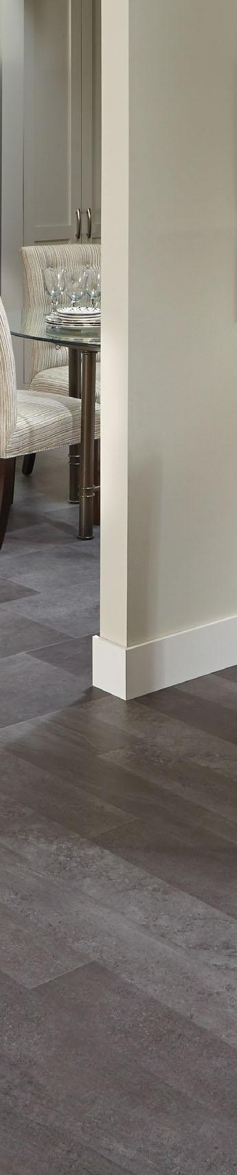 Mannington Hardware AT402 Adura Glue Down Collection Meridian Luxury Vinyl Tile Flooring Fossil//AT402