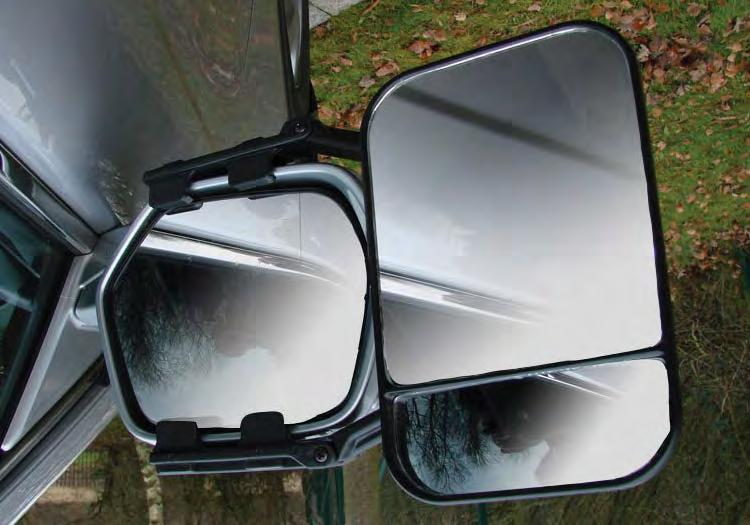 Maypole MP8327 Car Van Convex Glass Extension Deluxe Towing Mirror EU Approved