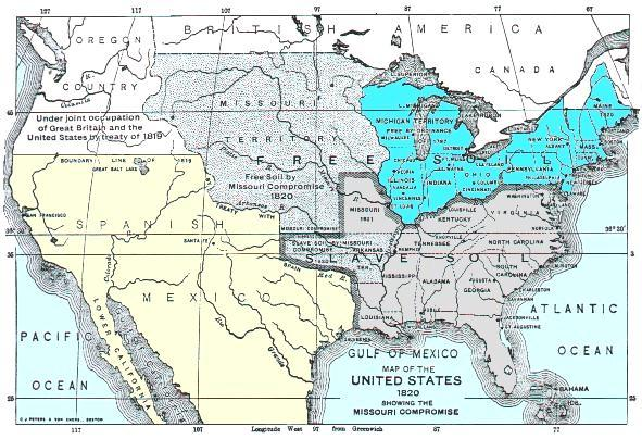 Era 3: Sectionalism and Pre-Civil War Events. Events leading ...