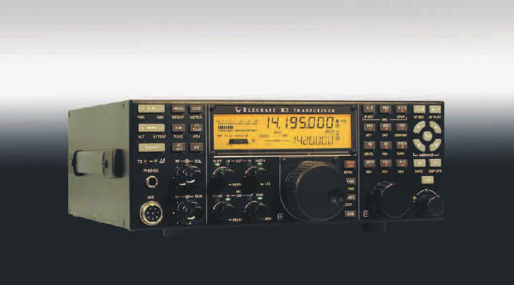 Searching For Peak HF Performance Introducing The Elecraft K3 Transceiver No Other Rig In This