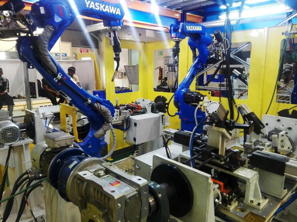 Affordable Robotic Automation Pvt Ltd Pune Automotive Dies Wiring Harness Manufacturers In Projects Executed Two Wheeler Customer