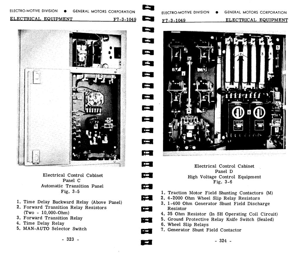 Electro Motive Division Pdf Electrical Fan Circuit Have One Switchone Way 5a 210v Electr Mtve Dvsn General Mtrs Crpratn Electrcal Equpment F7 3 149