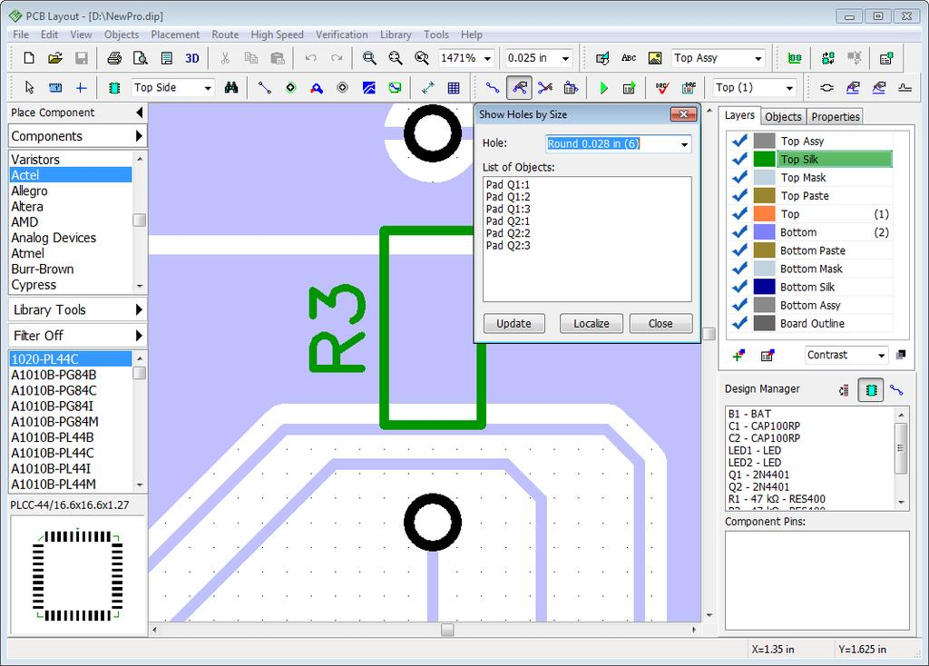 DipTrace  SCHEMATIC AND PCB DESIGN SOFTWARE Tutorial - PDF