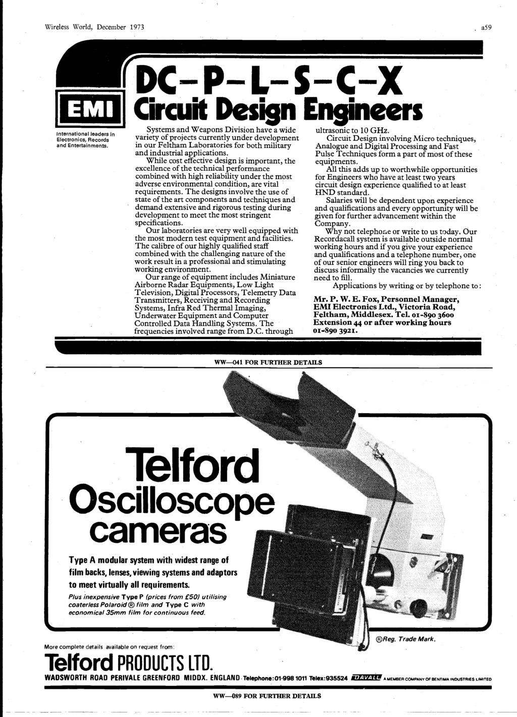 Word Ic Crossover Networks Using Opto Couplers December P Pdf In Flickering Circuits And Assorted Lens Sizes From 3mm 10mm Wireless World 1973 A59 International Leaders Electronics Records Entertainments