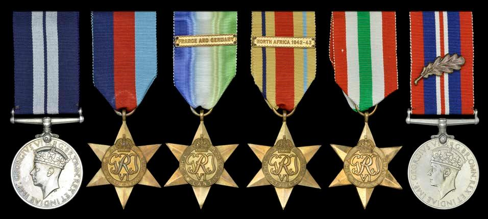 32cda030c5b96 59 GROUPS AND SINGLE DECORATIONS FOR GALLANTRY 53 The outstanding Second  War Commando Landing Craft Coxswain s D.S.M. group of six awarded to  Leading Seaman ...