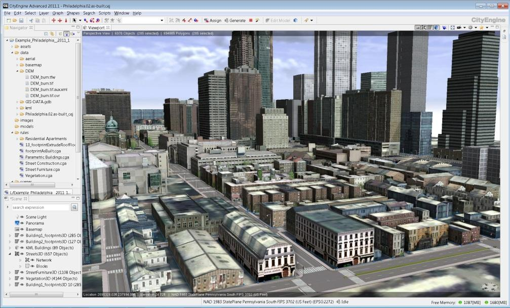 Creating and sharing Rule Packages with CityEngine  Markus