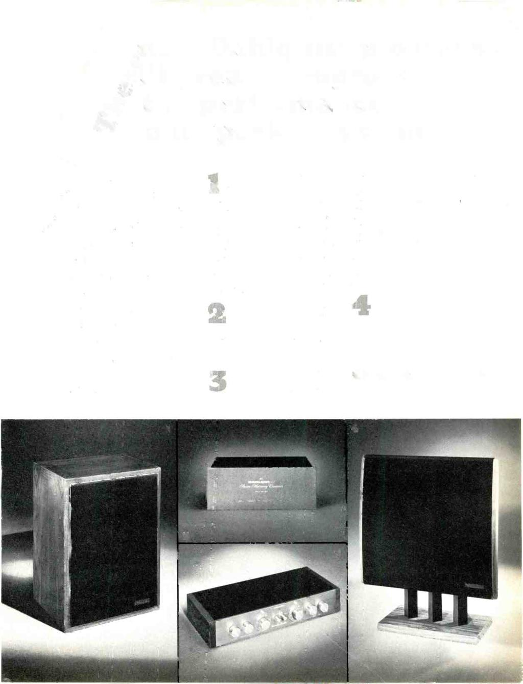 Wide Bandwidth Preamp Pdf Higain Speaker Listening Amplifier Circuit Kit Aa5 Dew Dahlquist Products Greatly Improve Se The Performance Our System Du Four S