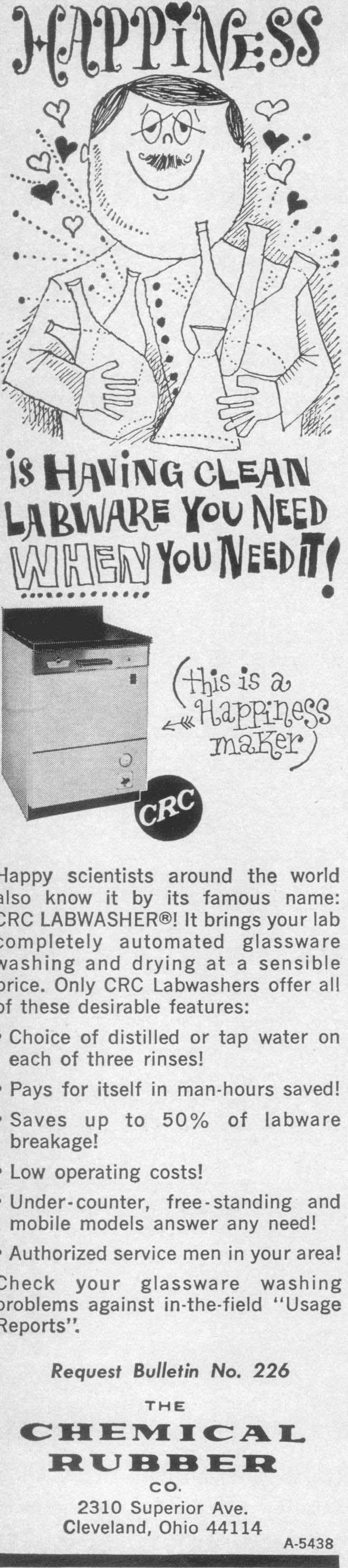 3f3a07f09b3 Only CRC Labwashers offer all of these desirable features    Choice of  distilled or tap