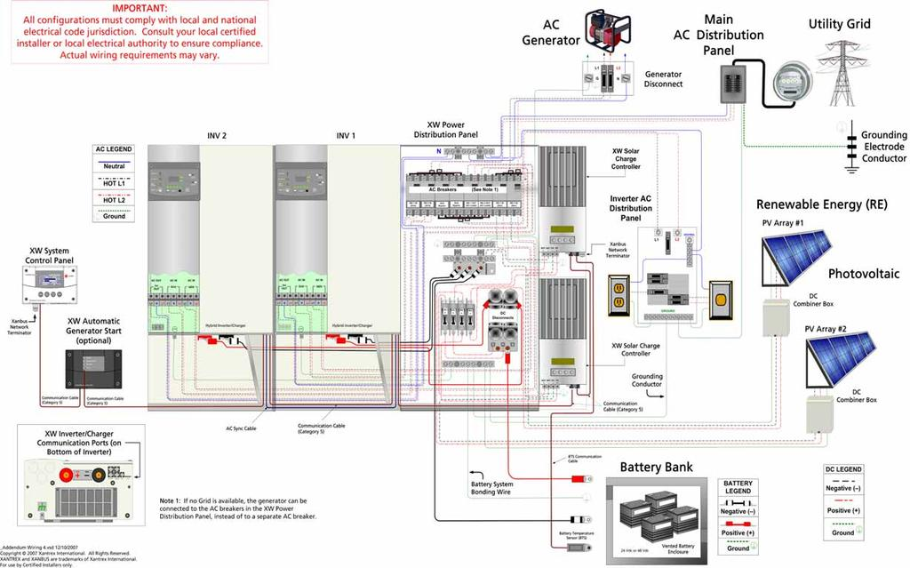 Xantrex XW Power System Xantrex XW / Xantrex XW / Xantrex XW ... on sample body diagram, lcd wire diagram, sample cover, sample plumbing diagram, light relay wire diagram, sample hardware diagram, sample data sheet, house diagram, sample flow diagram, sample hvac diagram, sample valve, sample block diagram,