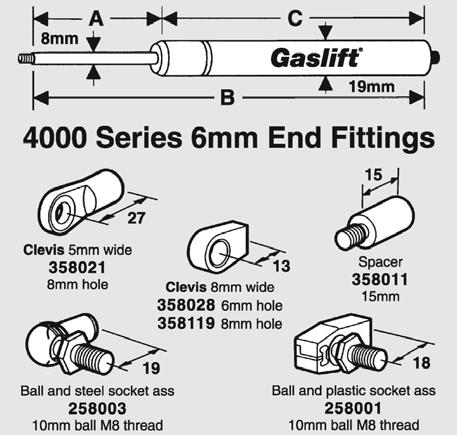 GABRIEL GP 035 ALFA ROMEO 145 146 155  FRONT shock absorber Dust Cover Kit